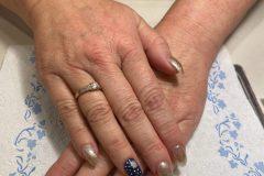 Vianočný design nechtov - nechtové štúdio Nails American Style Gelové Akrylové Nechty Bratislava