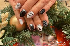 Weihnachts Designs -  Nagel Studio Nails American Style Gelnägel Acrylnägel Bratislava