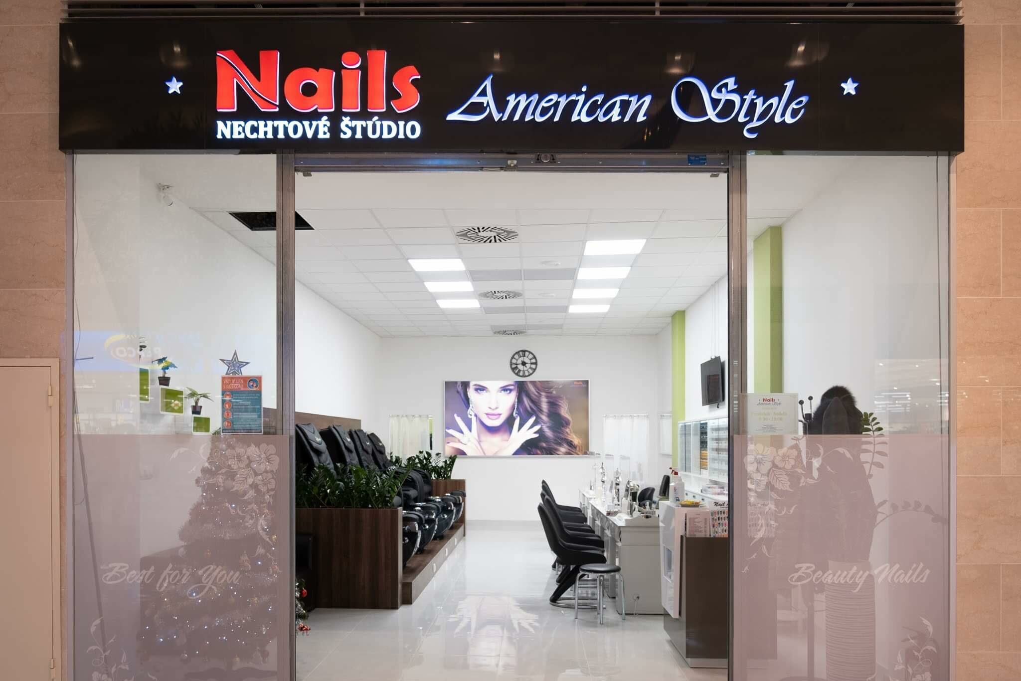 Nails American Style Studio Shopping Palace